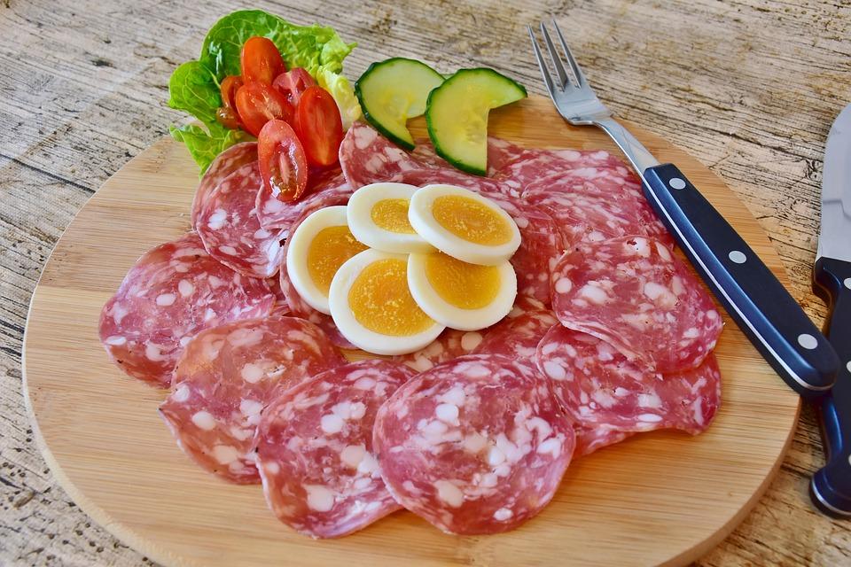 Salame, Salsiccia, Carne, Alimentari, Gourmet, Pasto