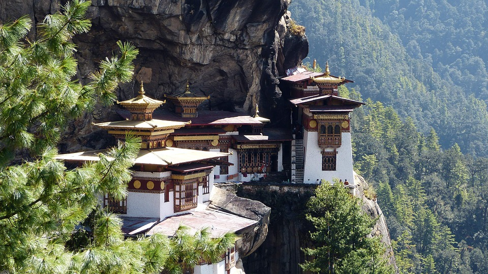 Travel, Architecture, Bhutan, Tiger Nest, Temple