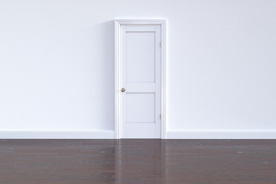 ドア, 戸口, 壁