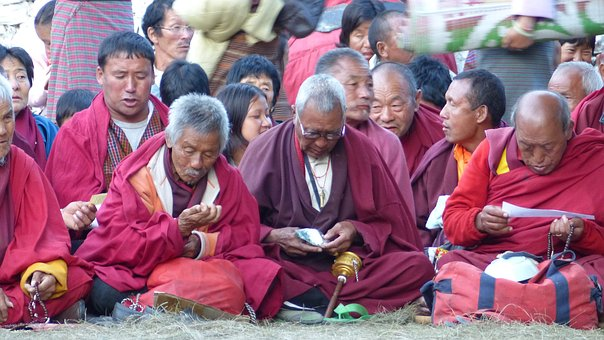 Monk, Religion, Prayer, Buddha, Human