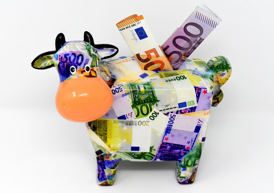 Keruntung, Uang, Sapi, Uang Dolar, 500 Euro, 50 Euro