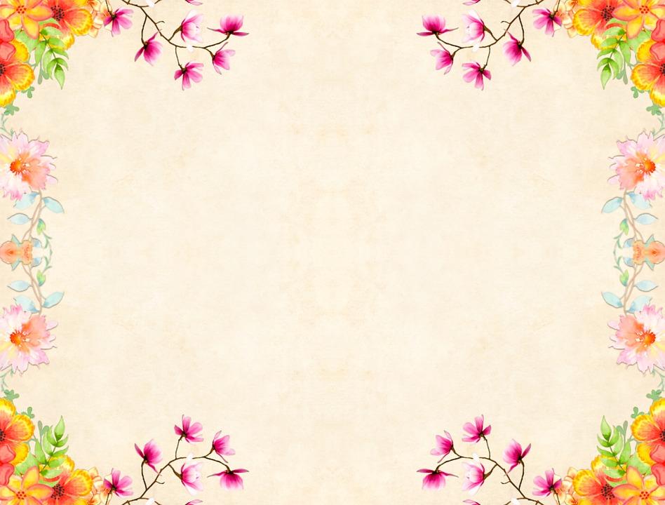 Fondo De Flores Vintage: Flower Background Floral · Free Image On Pixabay