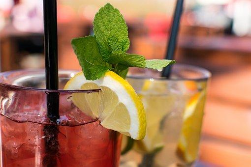 Bebida, Coquetel, Frutas, Vidro, Gelo