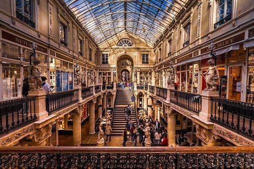 Nantes, Department Stores, France