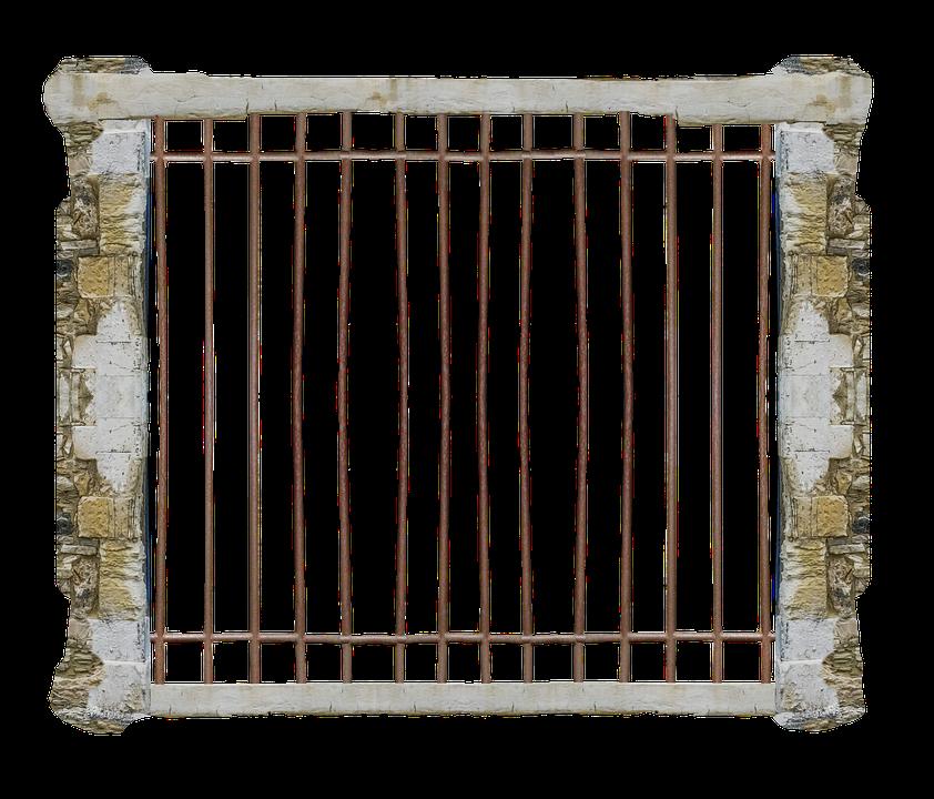 Cage Jail Transparent · Free photo on Pixabay