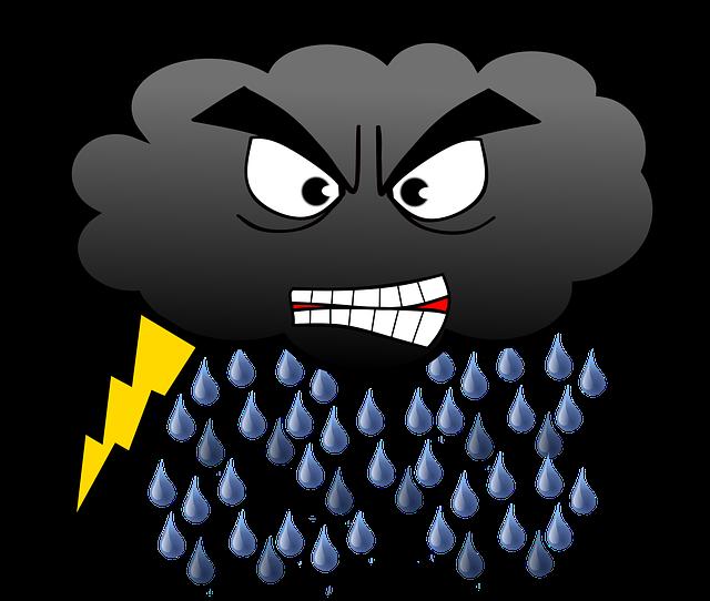 Cloud Rain Lightning · Free image on Pixabay