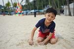 dziecko, sha, beach