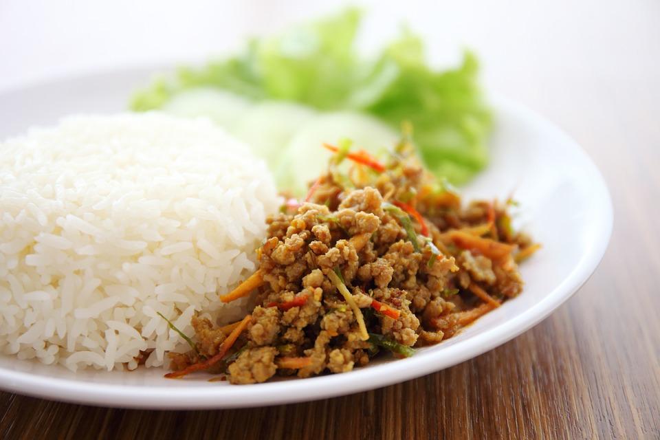 Kua Kling, Roasted Rolling Pig, Curry, Dish, Food