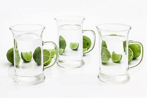 Limette - Aromatisiertes Wasser