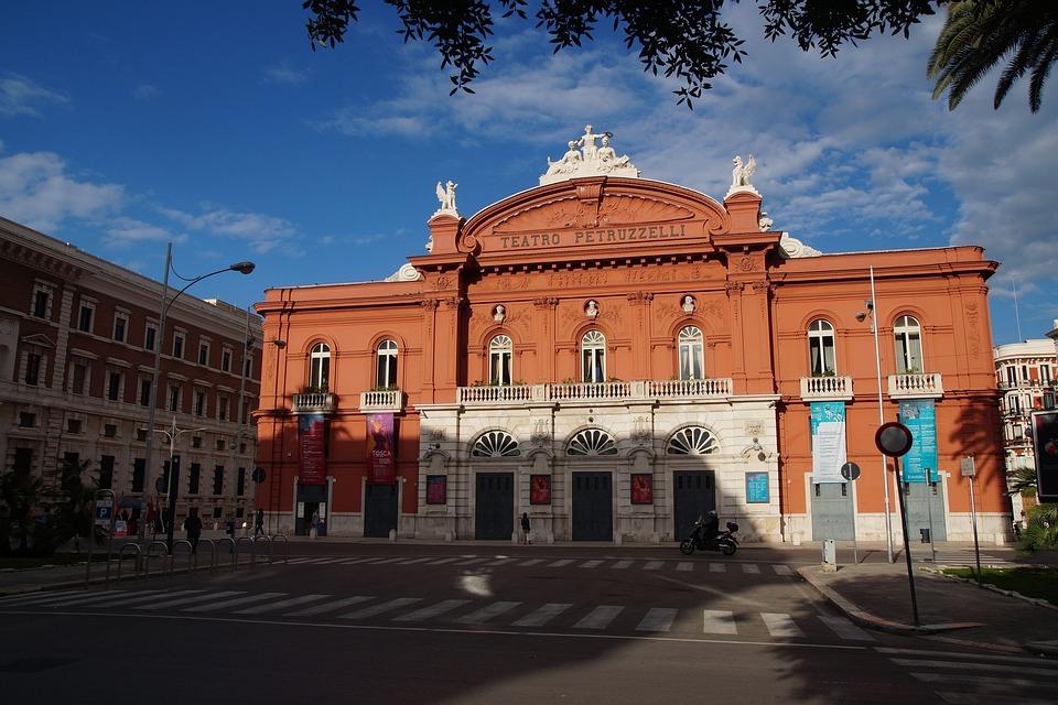 Bari, Apulia, Puglia, Włochya, Italy, Italia, Theater