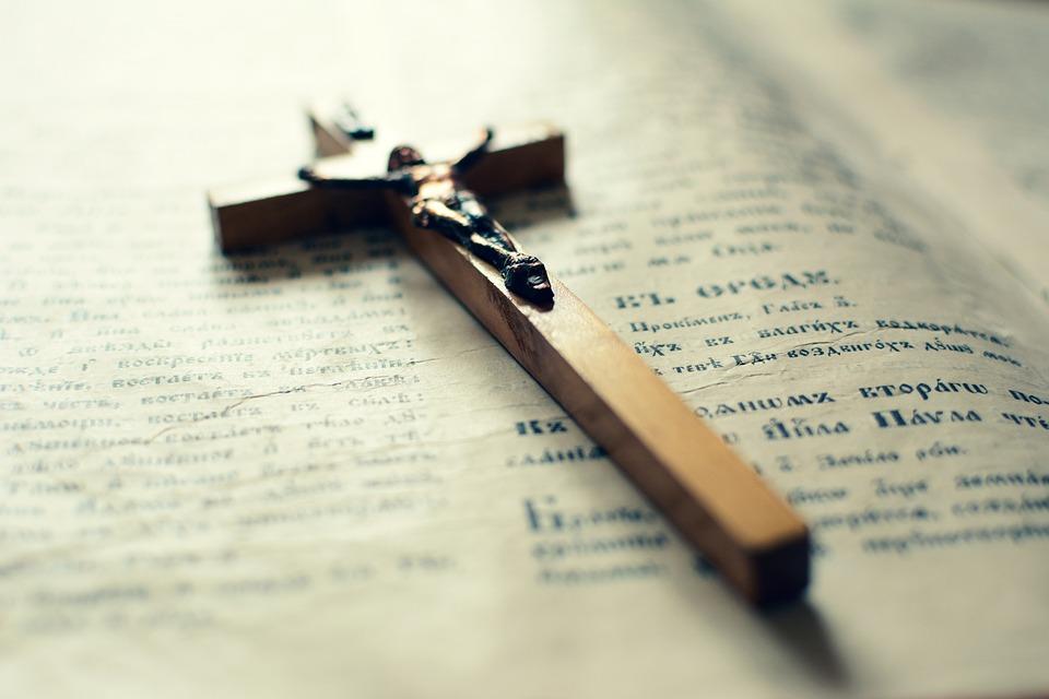 Holy Cross, Bible, Prayer, Old Book, Faith, Order