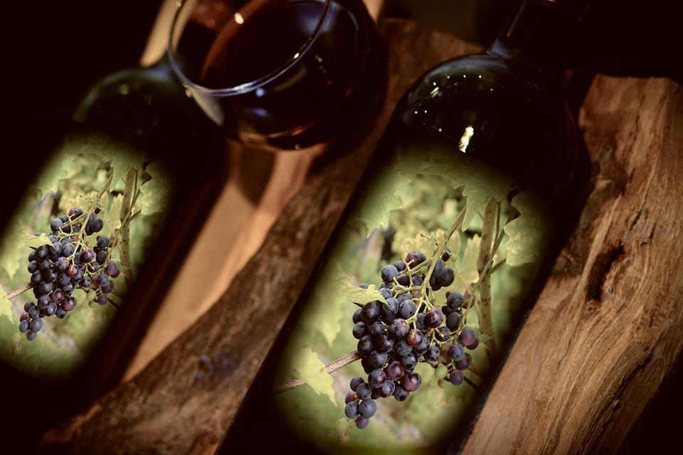 Vino, Vino Rosso, Bottiglie Di Vino, Drink