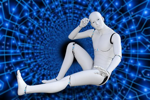Futuristic, Robot, Cyborg, Intelligence