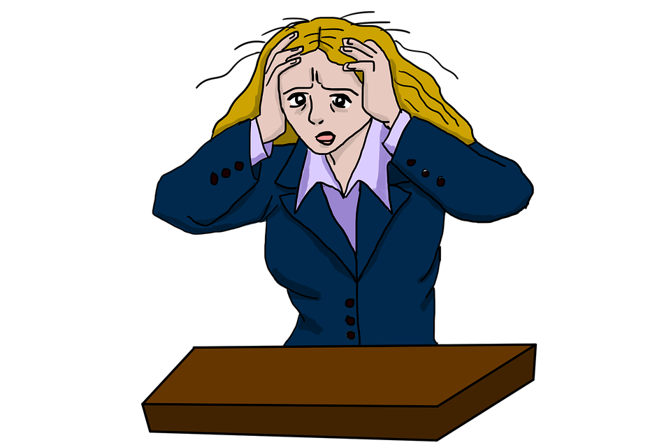 Stressed Woman Stress - Free image on Pixabay
