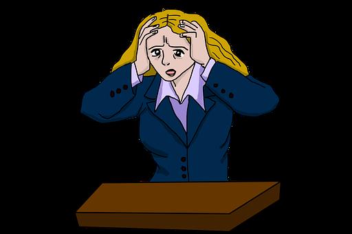 Stressed Woman, Stress, Stressed
