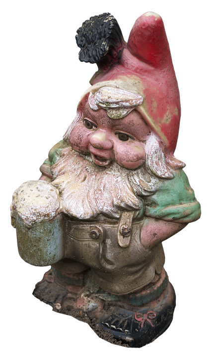 Dwarf, Imp, Garden Gnome, Historically, Figure, Ceramic