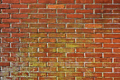 Brick Wall, Wall, Masonry, Brickwork