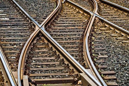Rails, Doux, Gleise, Chemin De Fer