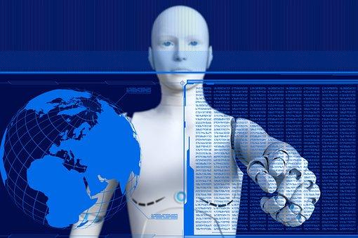 Robot, Cyborg, Futuristik, Android