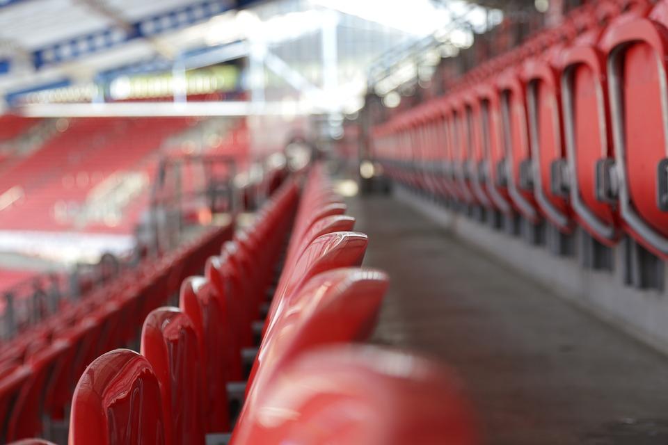 Stadion Sitze Sitzreihe Kostenloses Foto Auf Pixabay