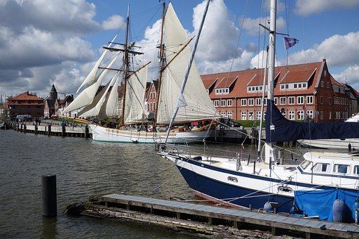 Glückstadt, Hafen, Elbe