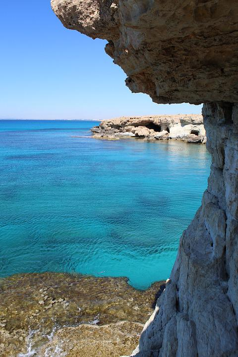 Seashore, Sea, Water, Nature, Beach, Cape Greco, Cyprus