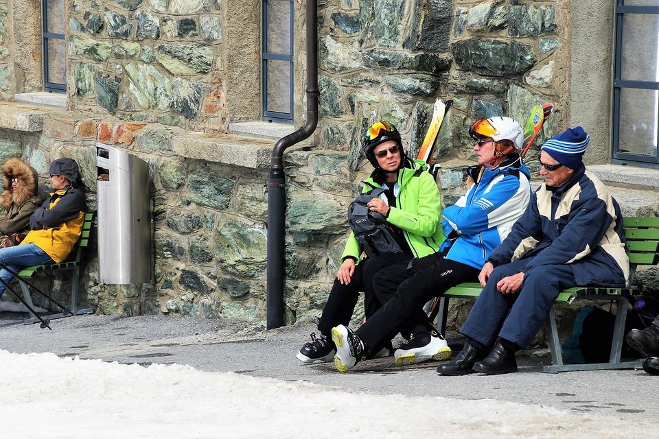 Ski, The Alps, Zermatt, People, Adult, Male