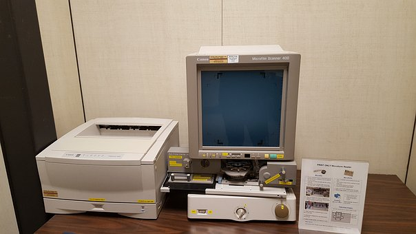 Obsolete Technology, Microfilms