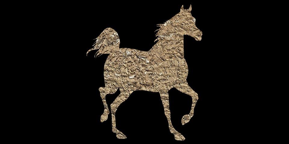 Kuda Hewan Vintage Poli Gambar Gratis Di Pixabay