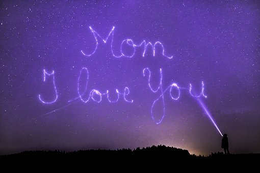 Mother'S Day, Mother, Star, Universe