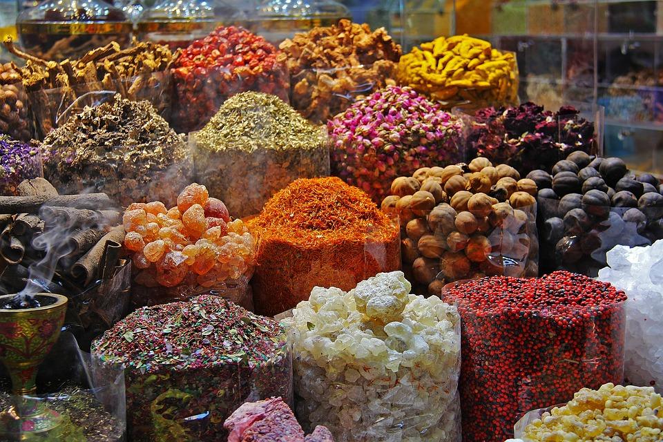 Spice market in Thekkady