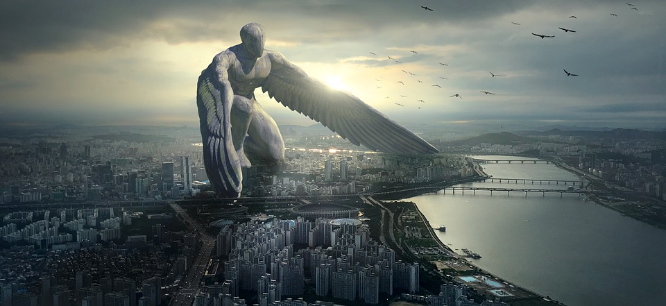 Fantaisie, Ange Gardien, Angel, Protector, Protéger