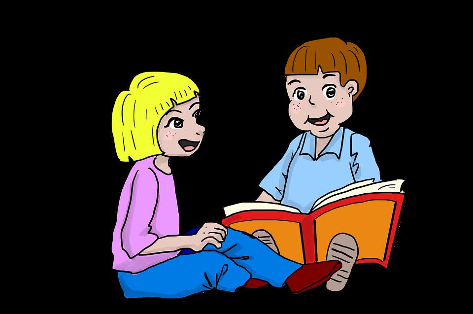 Kids, Kids Reading, Children, Read, Storybook