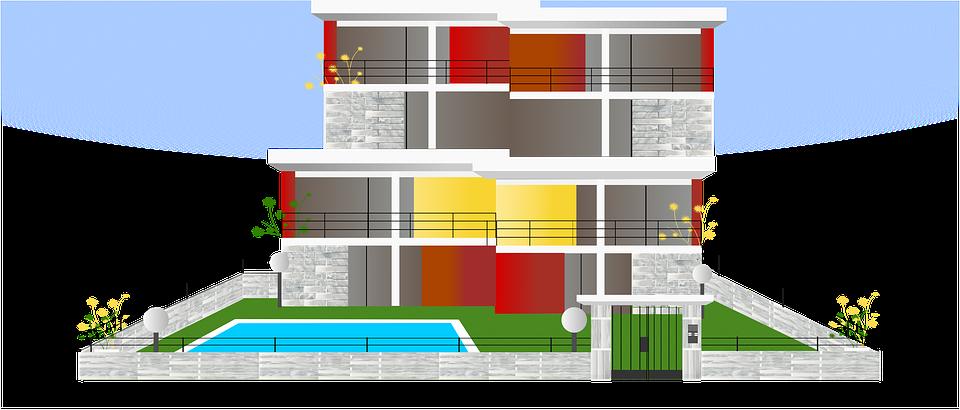 Gebäude Architektur Haus Moderne Design