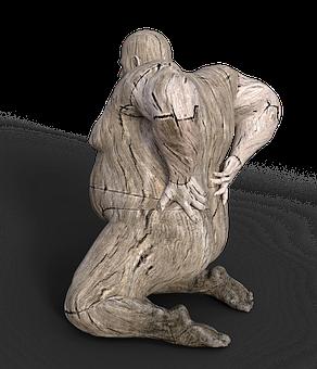Hombre, Dolor De Espalda, Sobrepeso