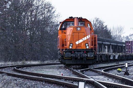 Zug, Eisenbahn, Eisenbahnlinie