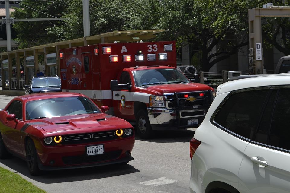 救急車, 緊急, Emt, トラフィック, 消防レスキュー, 消防署, 国土安全保障省, 911, 消防救助
