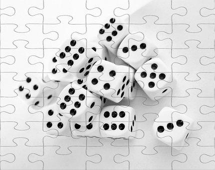 Play, Gamble, Gambling, Cube, Casino