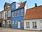 dania, sonderburg, stare miasto w domu