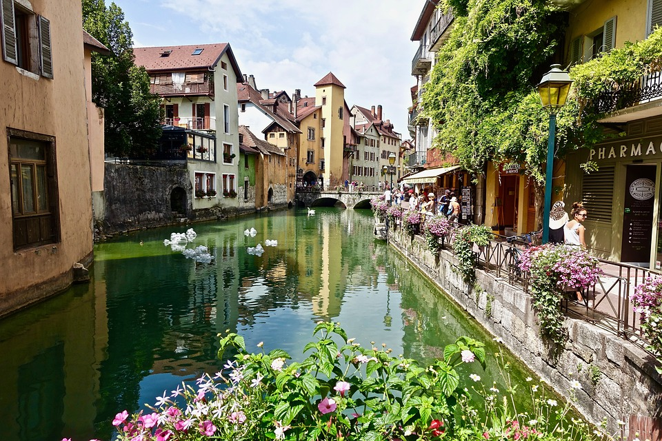 Annecy, Architecture, Tourism, Travel, City