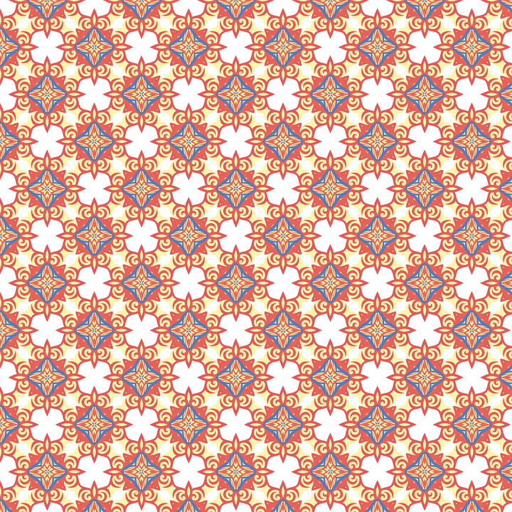 Pattern Flowers Flower Decoration Design