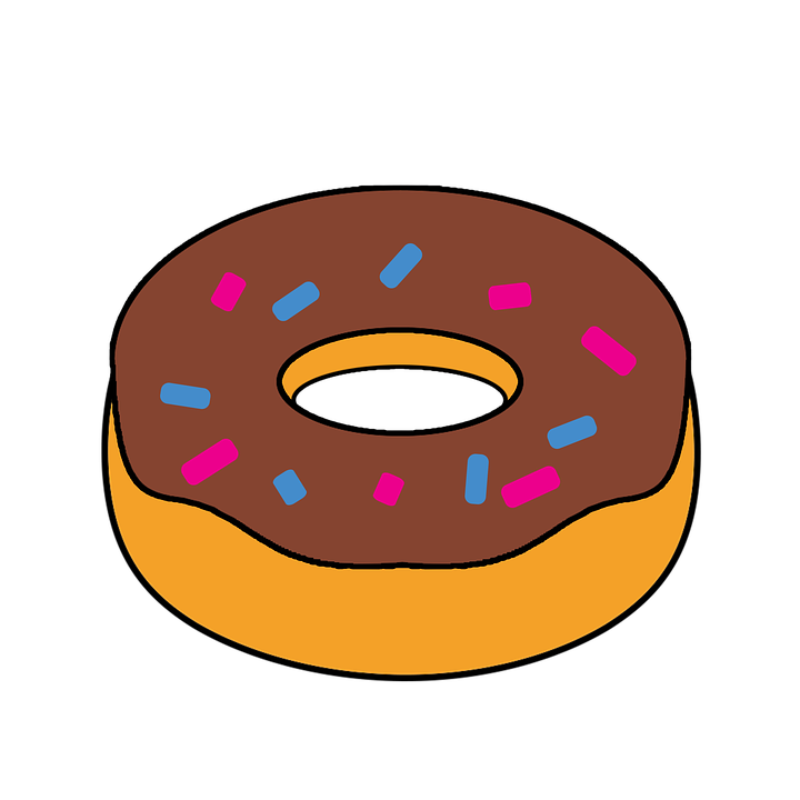 doughnut clipart food free image on pixabay rh pixabay com doughnut clipart doughnut clipart black and white