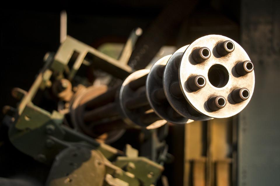 機銃, 戦争, 陸軍, 武器, 軍事技術