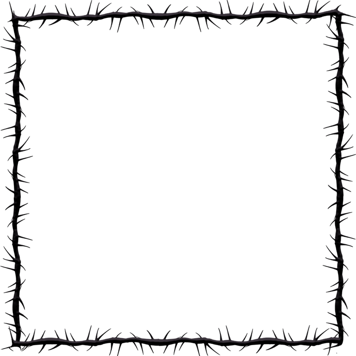 Graphic Thorns Frame · Free vector graphic on Pixabay