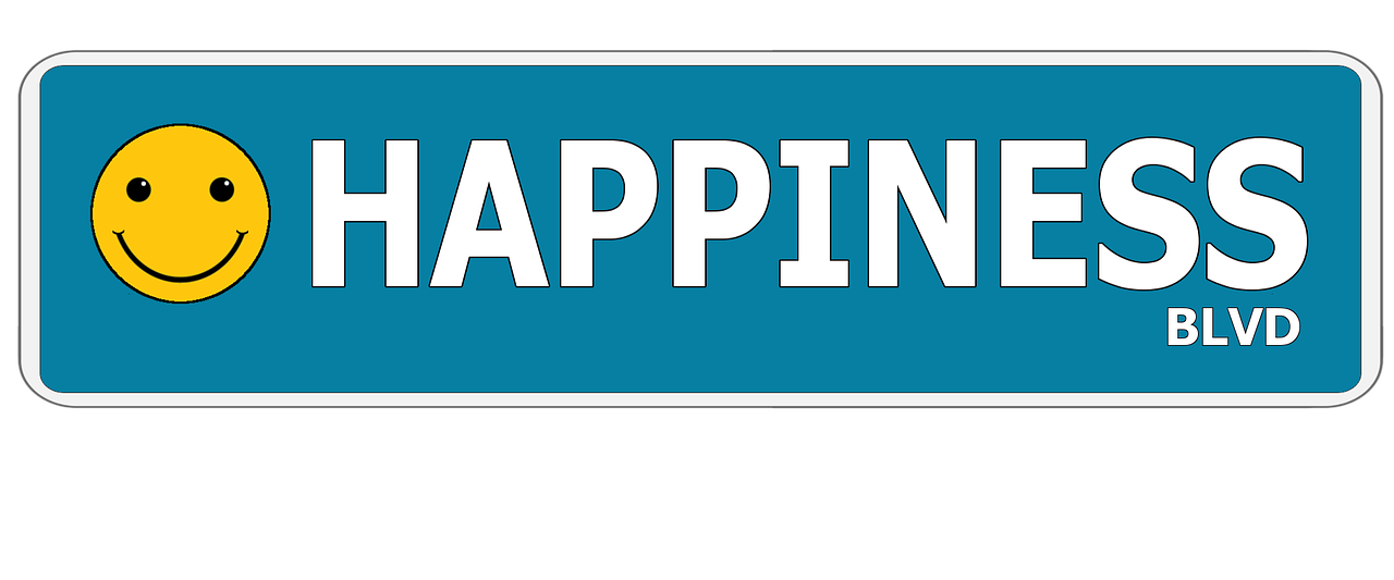 Happiness Street Sign Smiley Face - Free image on Pixabay