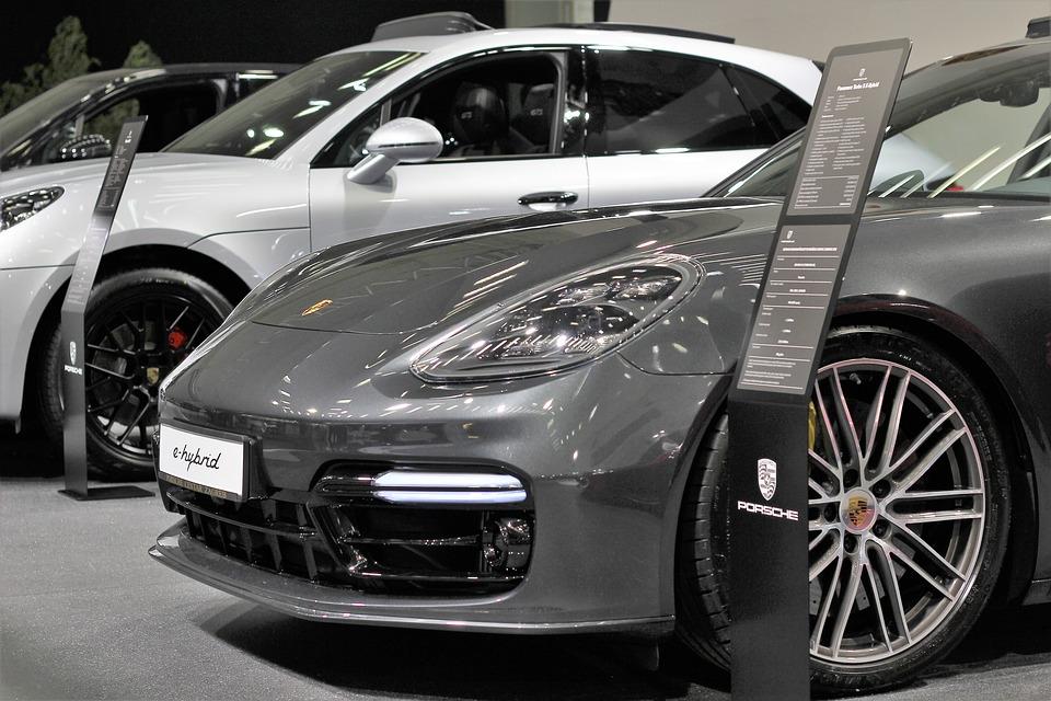 Auto Porsche E Hybride Show Gratis Foto Op Pixabay