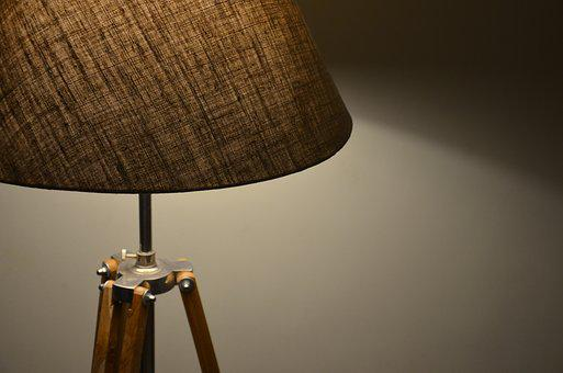 retro antik holz mobel dunkel lampe