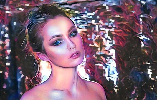 Beautiful, Portrait, Fashion, Woman