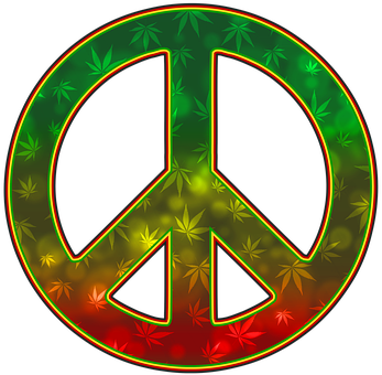 Peace, 420, Weed, Legalize, Leaf