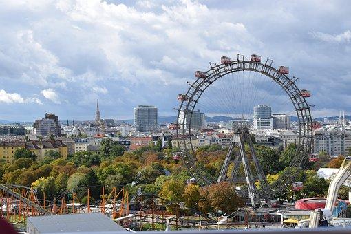 Parque de atracciones Prater, Noria de Viena